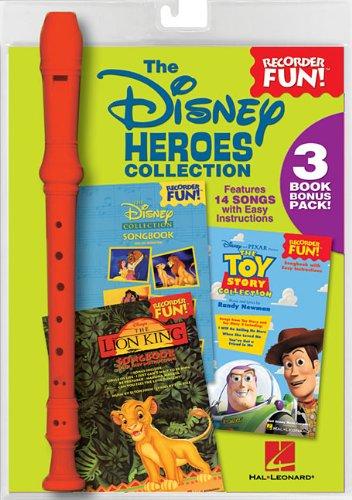 The Disney Heroes Collection: Recorder Fun! 3-Book Bonus Pack