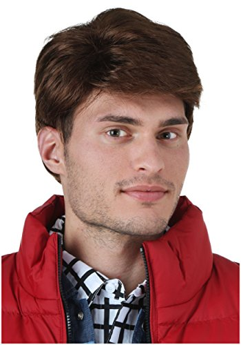 [Fun Costumes mens Marty McFly Wig Standard] (Marty Mcfly Costumes)