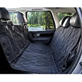 Windaze Car Back Seat Cover for Dogs - Machine Washable, Waterproof & Non-Slip for Cars, Trucks and SUVs