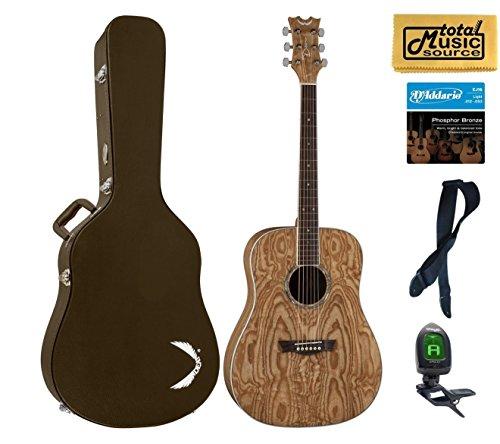 Dean Guitars AX DQA GN HSBNPACK Acoustic Guitar Case Bundle2 (Dean Ax Dqa Acoustic Guitar)