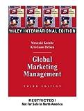 Wie Global Marketing Management, Kotabe and Kristiaan Helsen, 0471451878