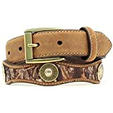 Nocona Boy's Mossy Oak Shotgun Shell Conchos Belt, Mossy Oak, 22