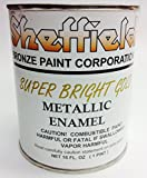 Sheffield 4740 Pt Super Brite Gold Enamel Exterior Metallic