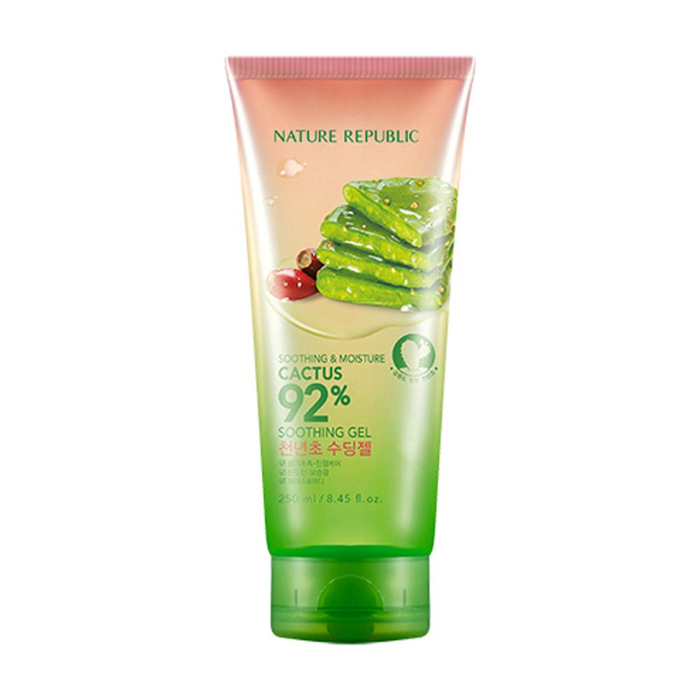 NATURE REPUBLIC Soothing and Moisture Cactus 92 Percent Soothing Gel