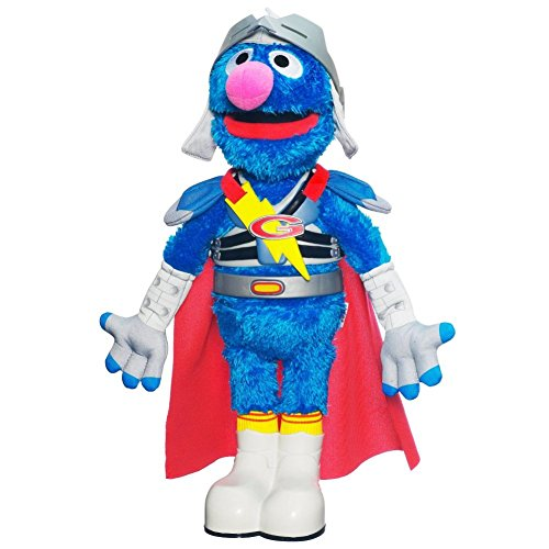Sesame Street Flying Super Grover Plush Doll (Sesame Street Stuffed Animals)