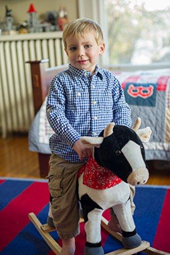 Animal Adventure Farm Cow Rocking Chair