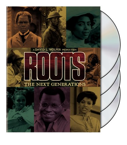 DVD : Roots: The Next Generations (, Slipsleeve Packaging, Slim Pack, Widescreen, 4 Disc)