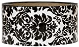 Black Damask decorative packing tape
