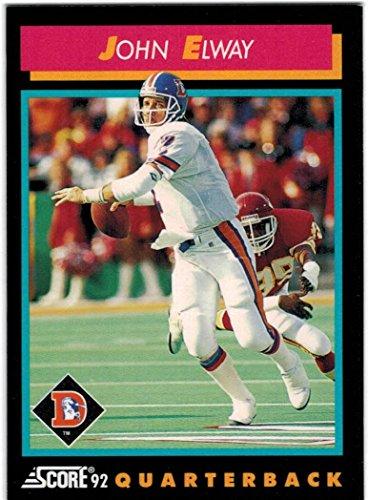 1992 Score Denver Broncos Team Set with John Elway & Karl Mecklenburg - 23 Cards -