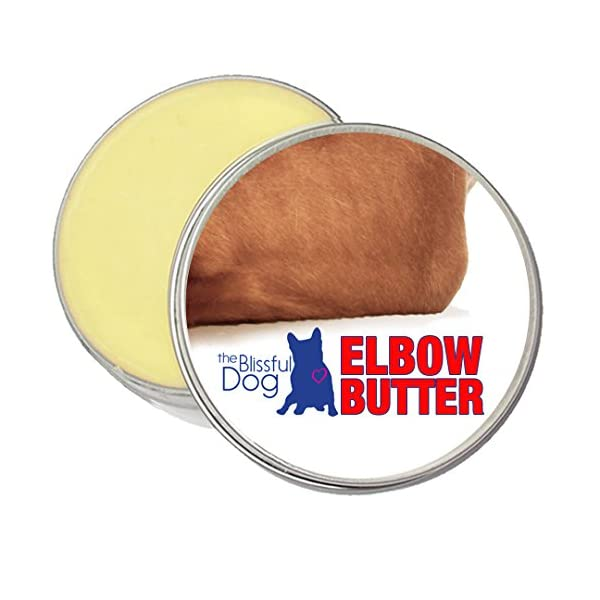 The Blissful Dog Elbow Butter Moisturizes Your Dog's Elbow Calluses – Dog Balm, 1-Ounce