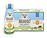 Cheap Organic Valley Breakfast Balance, Organic Milk Protein Shake, Vanilla Bean, 11 Ounces (Pack of 12)