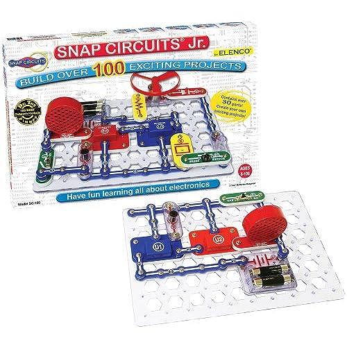 Snap Circuits Jr SC 100 Electronics Discovery Kit