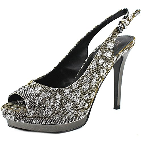 Marc Fisher Frauen Melissa 2 Pumps Pewter Multi