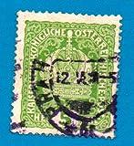Used Austria Postage Stamp (1916) 5 Austrian Crown - Scott #146