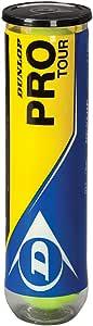 Dunlop Tennis-Ball Pro Tour, Yellow, One size / 602201 by Dunlop