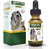Dr. Pet Hemp Oil for Dogs and Cats | 250mg | Stress & Anxiety Relief | Advanced Formula | Supports Hip & Joint Health | Natural Relief for Separation Anxiety