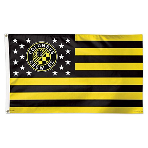 fan products of SOCCER Columbus Crew SC 11182115 Deluxe Flag, 3' x 5'