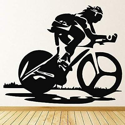 BFMBCH Pegatinas de pared de bicicleta jardín de infantes sala de ...