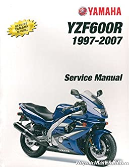 lit 11616 10 55 1997 2007 yamaha yzf600 service manual manufacturer rh amazon com 2000 Yamaha YZF600R Carburetor Kit 2000 Yamaha YZF600R Gas Pump