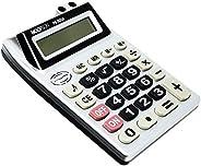 Calculadora De Mesa 8digitos Bateria Cinza - Unidade, Hoopson, PS-3523A, Preta