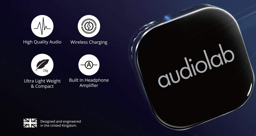 Audiolab M-DAC Nano Portable Wireless DAC and Headphone Amplifier