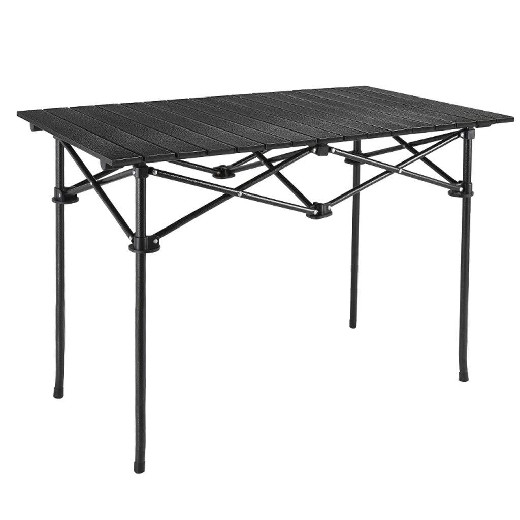 折りたたみキャンプテーブルアルミ軽量エクストラ強度ポータブル屋内屋外ガーデンパーティーホリデーピクニックバーベキュー付きキャリーバッグと簡単にポータブル B07PQ52KVH