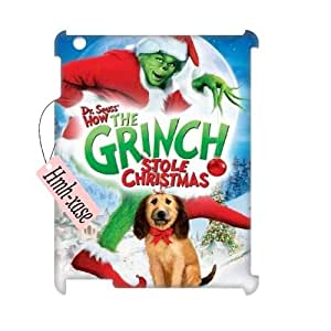 Custom 3D Case Cover for iPad 2,iPad 3,iPad 4 w/ The Grinch Christmas image at Hmh-xase (style 5)