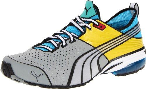Puma Toori Run C Fibra sintética Zapatillas Limestone-Olive-Blue-Green