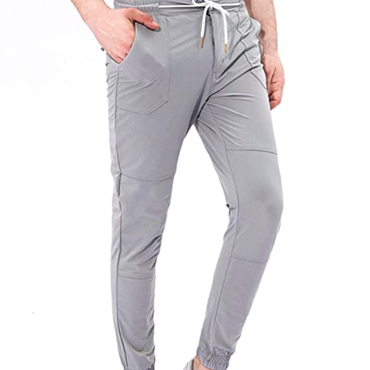 ♚Pantalones de Hombre de Overoles,Pantalones de pantalón de Trabajo Casual de Bolsillo de Trabajo Deportivo Deportivo Absolute: Amazon.es: Ropa y ...