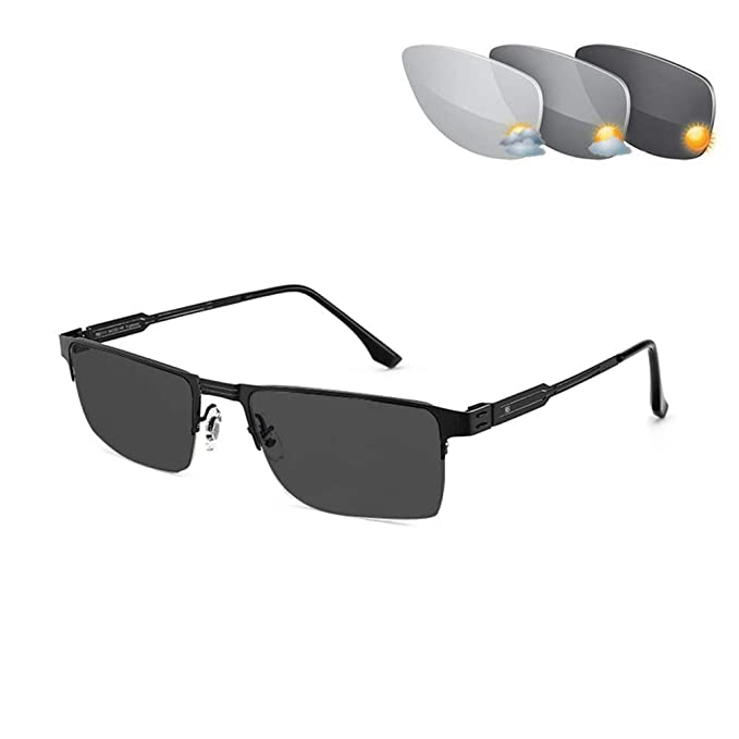 HQMGLASSES Gafas de Lectura fotocromáticas, Lector ...