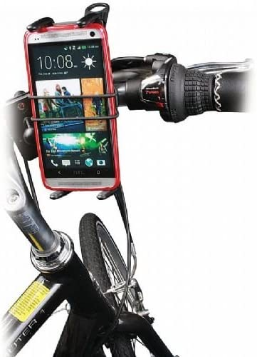 Digitl Bike Phone Holder or Handlebar Motorcycle Phone Mount for Motorola Moto One Z4 Z2 Z2 G5 G6 G7//G7 Plus Google Pixel 3//3a 3//3a 4 XL Phones w//Swivel Cradle and Safety Drop Bungee Strap