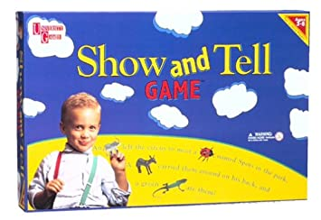 Amazon Com Show Tell Game Toys Games