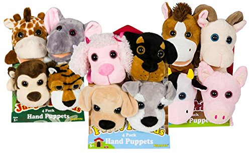 Puppy Friends Plush Hand Puppets product image