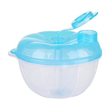 Per 3 Compartments Milk Power Box Food Storage Bowl Container Portable Leak Proof BPA Free Formula  sc 1 st  Amazon.com & Amazon.com : Per 3 Compartments Milk Power Box Food Storage Bowl ...