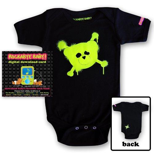 Rockabye Baby! Digital Download Card Gift Package + Rockabye Baby 100% Organic Cotton Onesie (Onesies Package)