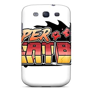 Fashionable Style Case Cover Skin For Galaxy S3- Super Meat Boy