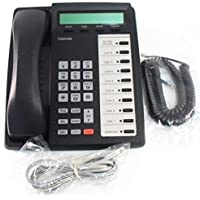 Toshiba DKT3010-SD 10 Button LCD Display Speakerphone – Refurbished (Black)