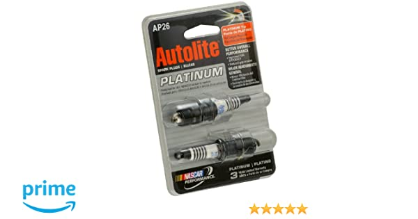 Amazon.com: Autolite 26DP2 Copper Core Spark Plug, 2 per Card: Automotive