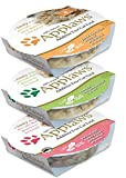 Applaws Additive Free 100% Natural Food For Cats 3 Flavor Variety 6 Can Bundle: (2) Chicken Breast/Broth, (2) Tuna With Crab/Broth, and (2) Chicken Breast With Duck/Broth, 2.12 Oz. Ea. (6 Cans Total)