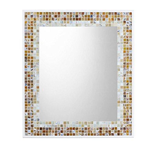 Mosaic Wall Mirror | Caramel & Buttercream