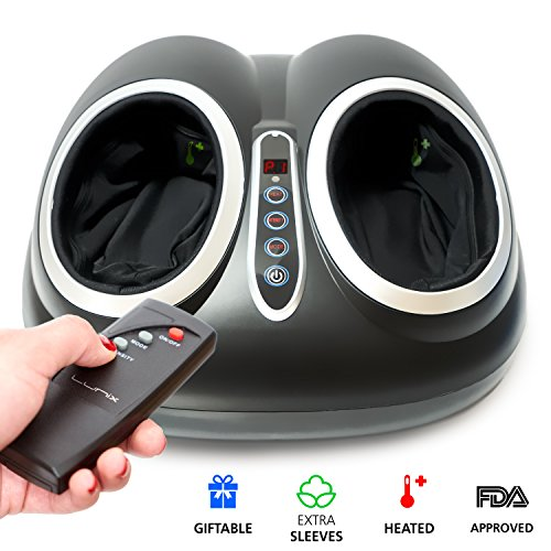 Shiatsu Foot Massager Machine with Deep Kneading - Electric Foot Spa with...