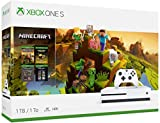 Microsoft Xbox One S 1TB Hard Drive Console (4K Ultra HD Blu-ray) with Wireless Controller and Game Bundle   Choose Battlefield V Bundle   Minecraft 1TB 4K BLU-RAY HDR