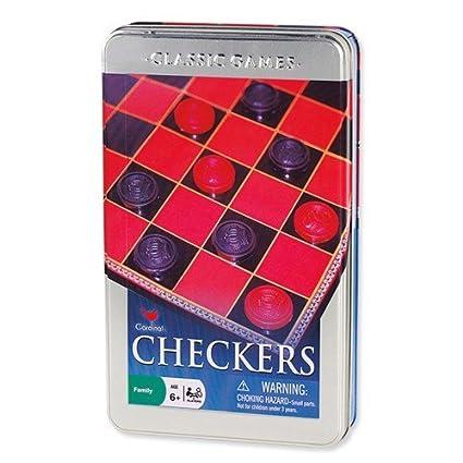 Basic Checker Set In A Tin