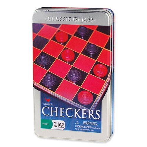 Basic Checker Set In A Tin