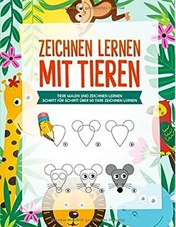 Tiere Zeichnen Lernen Amazon De Bucher