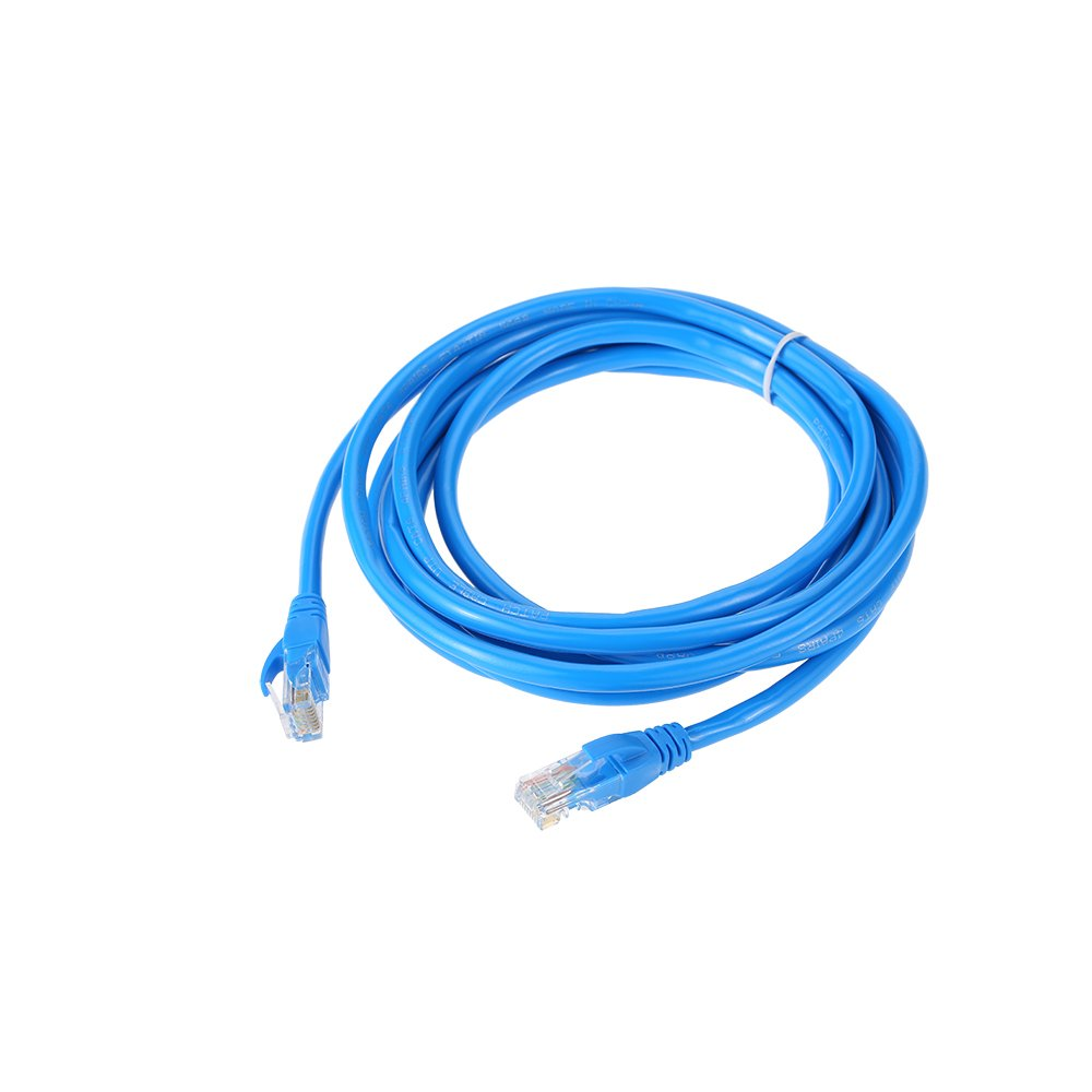 KKmoon Network Patch Cable 3 FT Cat5e 550MHz 10Gbps RJ45 Computer Networking Cord