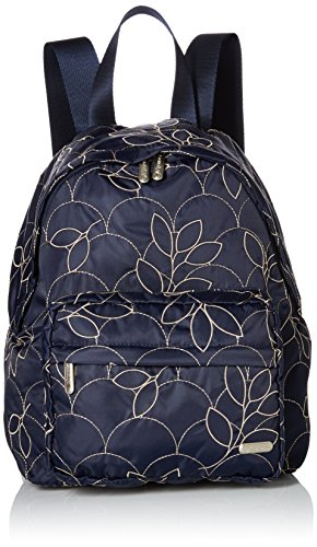 LeSportsac Women's City Piccadilly Backpack, Navy Petals by LeSportsac