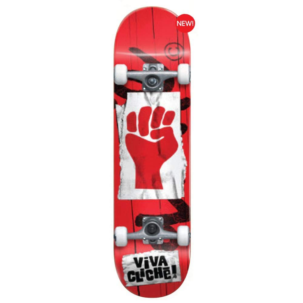 Cliche Skate Complet Viva Factory Red 7.8