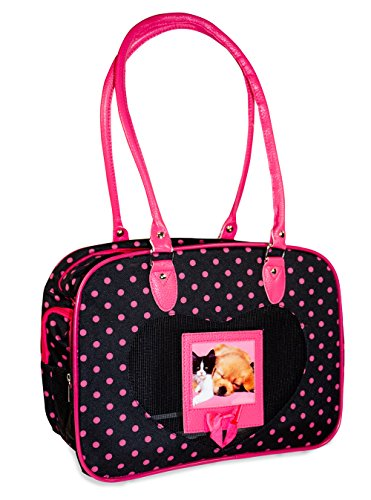 Cheap J Garden Polka Dot Pet Carrier