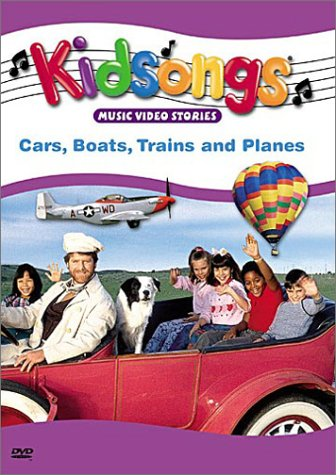kidsongs cars boats trains and planes